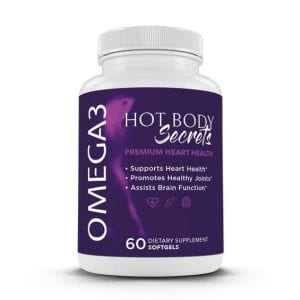 Use Hot Body Secrets Omega3 to ensure that your hard work towards a healthier lifestlye is enhanced and improved upon in a natural way.