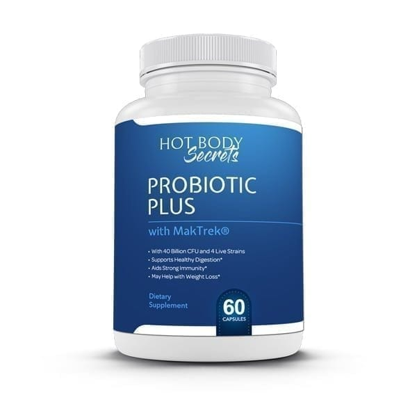 Hot Body Secrets Probiotic Plus is designed to help your body breakdown enzymes in your body that willhelp youl ose weight and stay healthy.