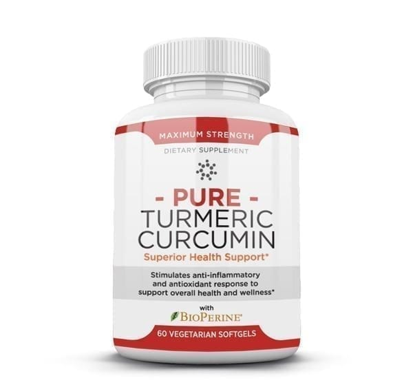 Use Pure Turmeric Curcumin by HBI Labs to help stop or reduce inflammation in the body that could be causing weight loss or pain issues.