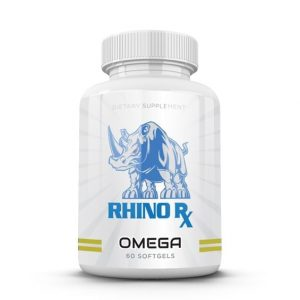 Rhino Club Nutrition's Omega by HBI Labs improves general health, supports fat loss and improves brain function and joint flexibility. Healthy Living | Health Supplements | Fitness for Women | Fitness for Men